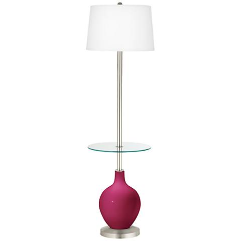 Vivacious Ovo Tray Table Floor Lamp