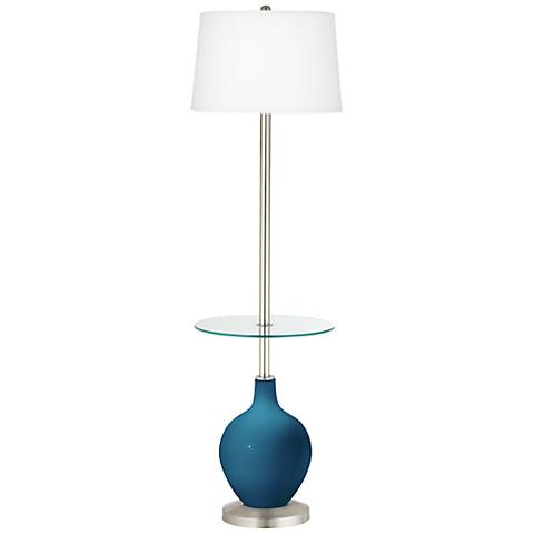 Bosporus Ovo Tray Table Floor Lamp
