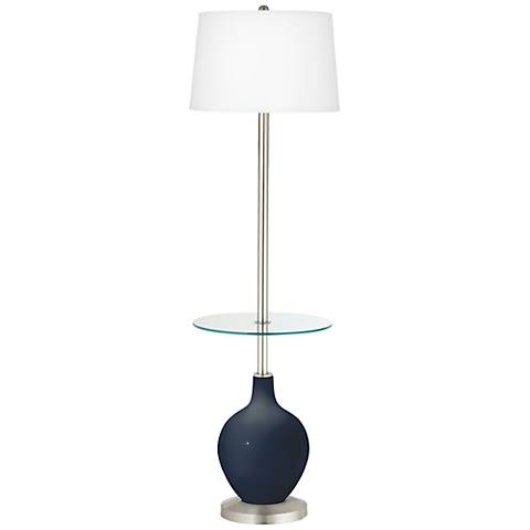 Naval Ovo Tray Table Floor Lamp