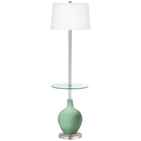 Hemlock Ovo Tray Table Floor Lamp