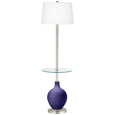 Valiant Violet Ovo Tray Table Floor Lamp