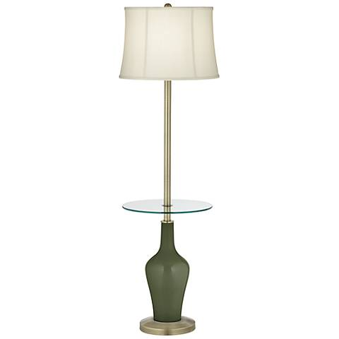 Secret Garden Anya Tray Table Floor Lamp