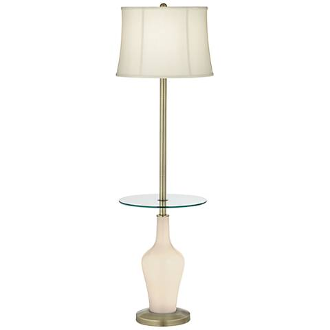 Steamed Milk Anya Tray Table Floor Lamp
