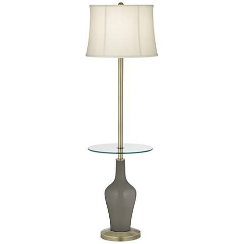 Gauntlet Gray Anya Tray Table Floor Lamp