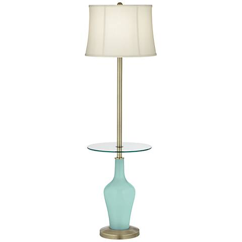 Cay Anya Tray Table Floor Lamp