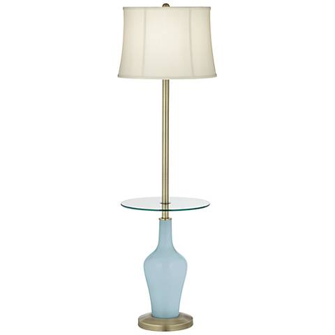 Vast Sky Anya Tray Table Floor Lamp