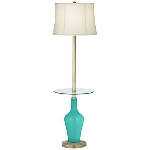 Synergy Anya Tray Table Floor Lamp