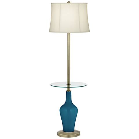 Oceanside Anya Tray Table Floor Lamp