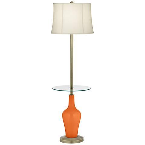 Invigorate Anya Tray Table Floor Lamp