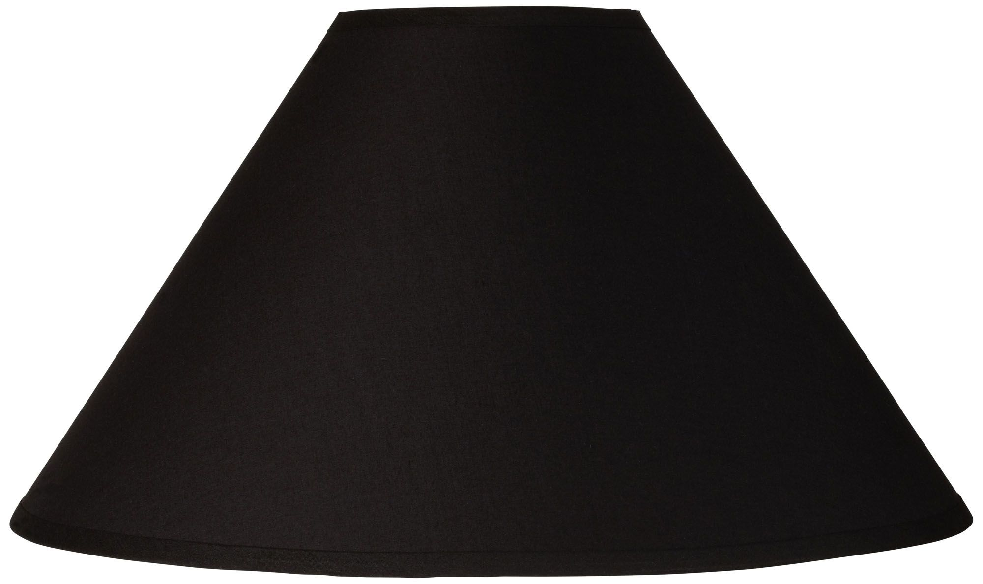 Black Chimney Empire Lamp Shade 6x19x12 (Spider)