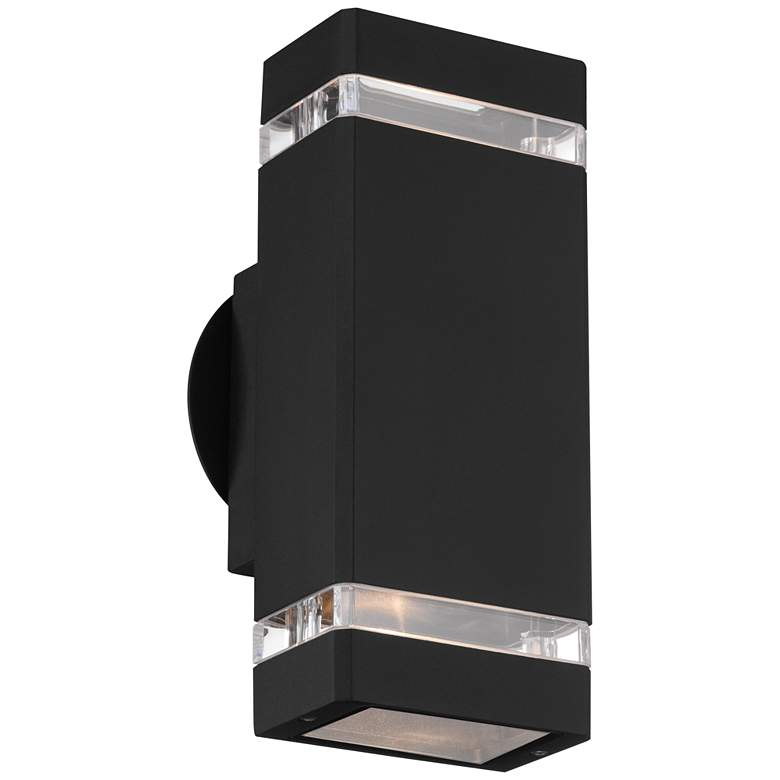 "Skyridge 10 1/2"" High Black Up-Down Outdoor Wall Light"