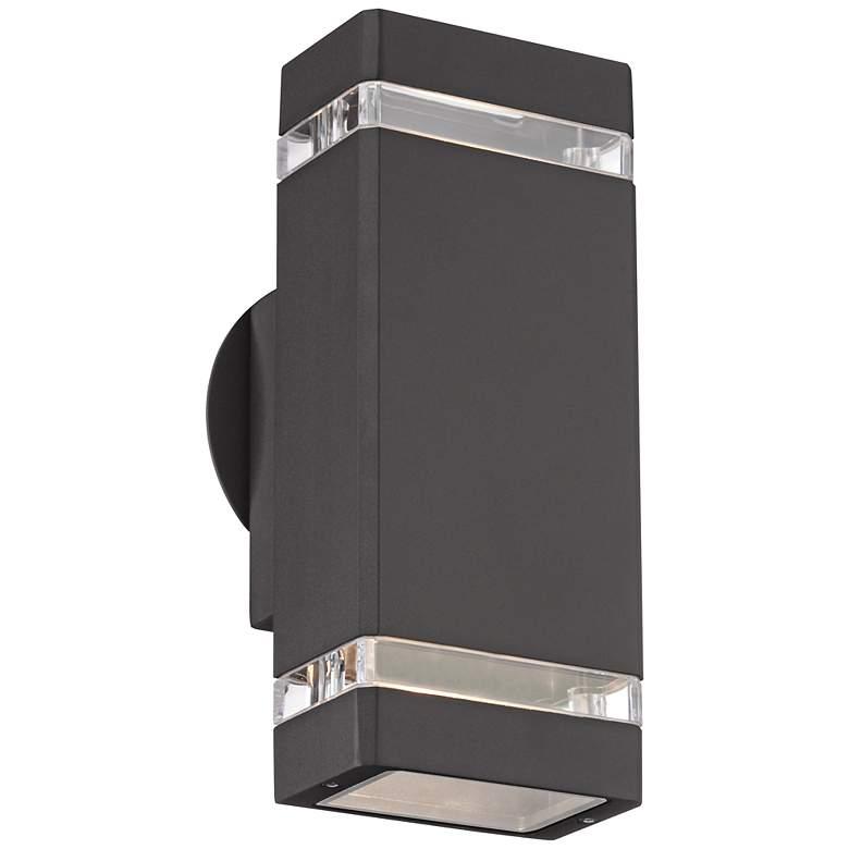 """Skyridge 10 1/2"""" High Bronze Up-Down Outdoor Wall Light"""