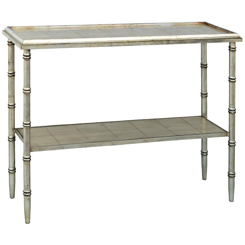 """Doheny 40"""" Wide Silver Console Table by Port 68"""