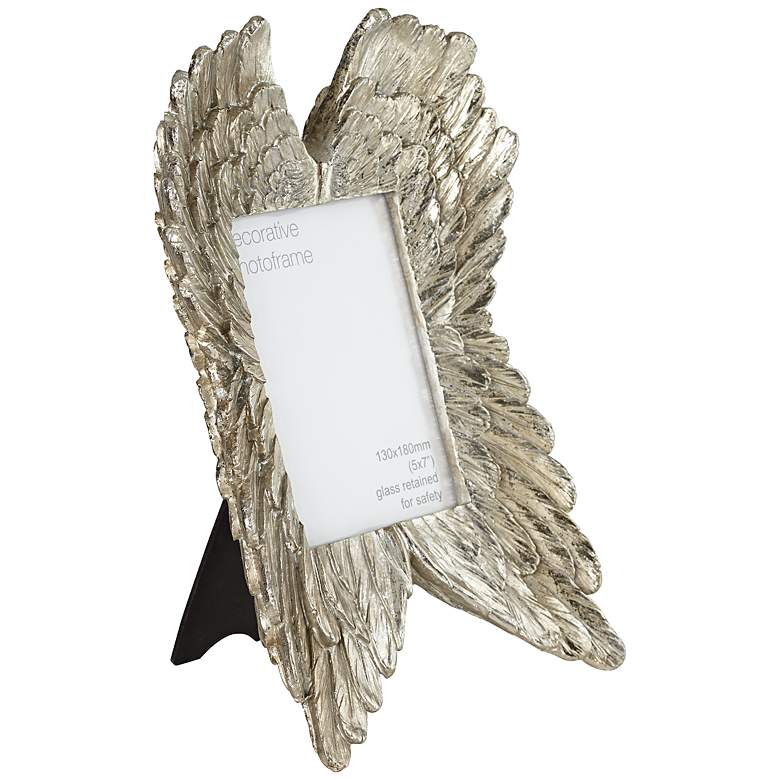 Angel Wings Gold 5x7 Photo Frame