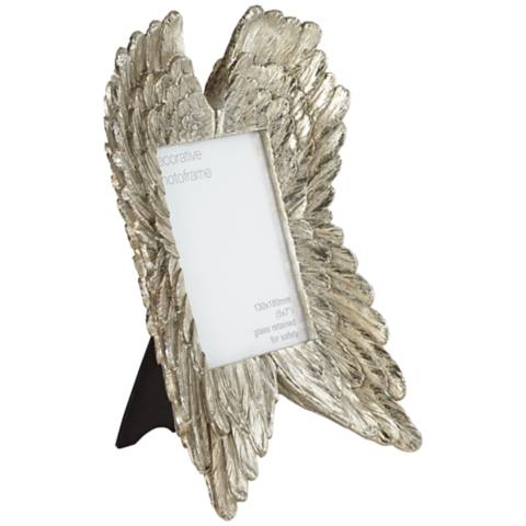 Angel Wings Gold 5x7 Photo Frame 4d718 Lamps Plus
