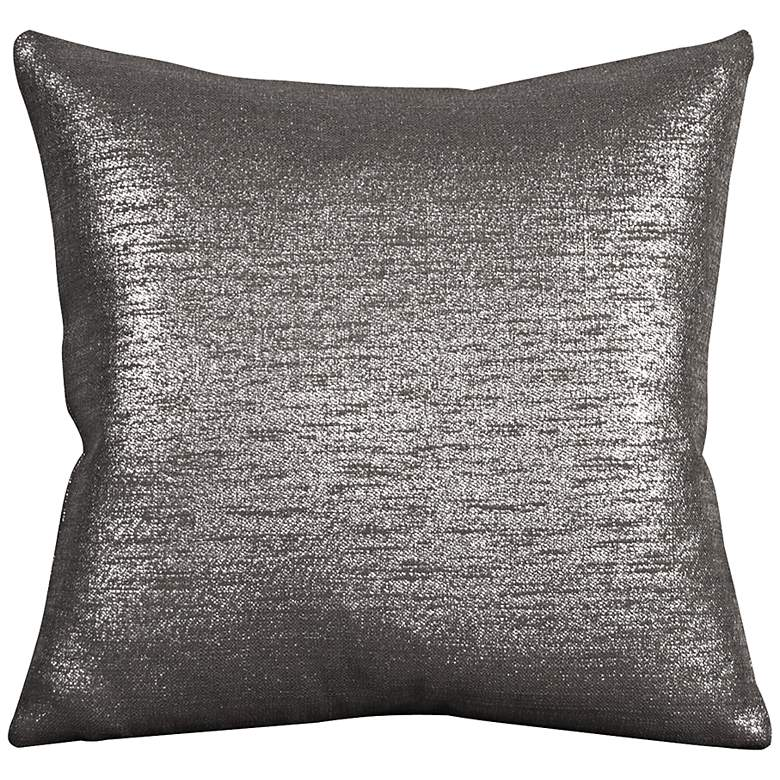 "Howard Elliott Glam 20"" Zinc Throw Pillow"