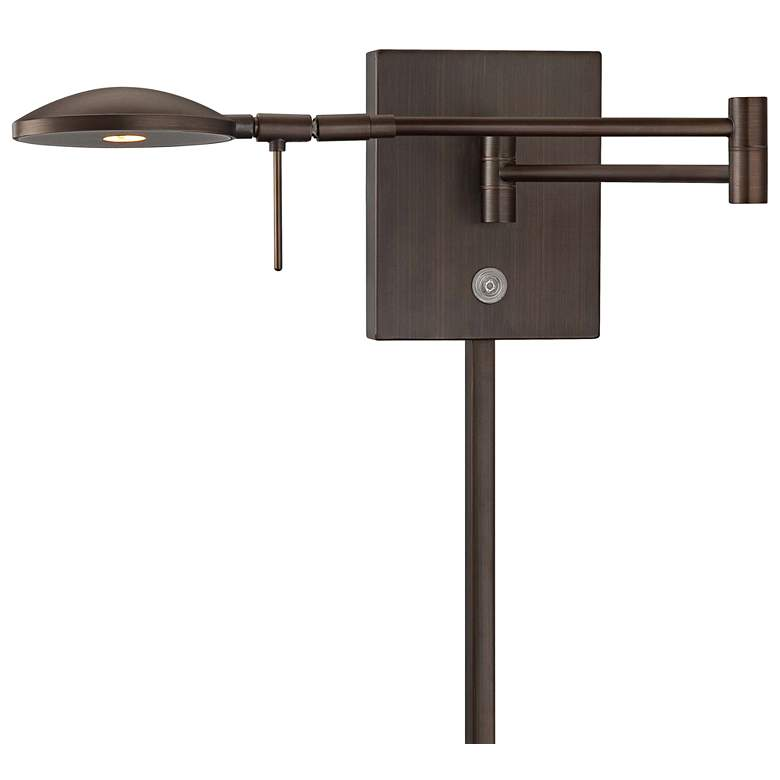 George Kovacs Reading Room Copper LED Swing Arm Wall Lamp