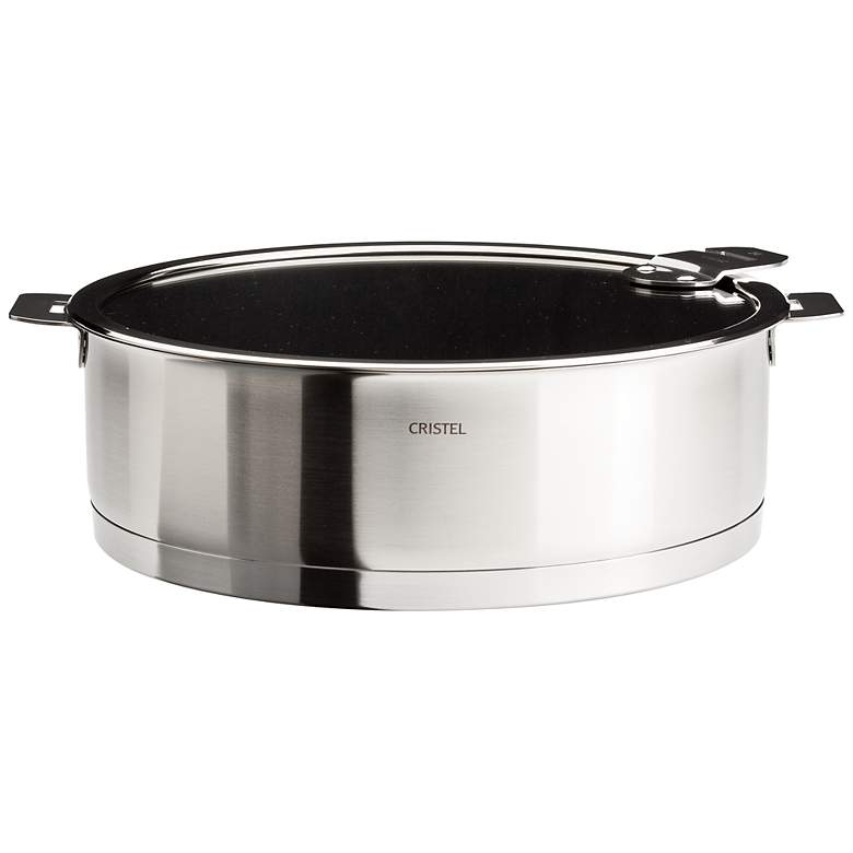 Cristel Strate Removable Handle 4.5-Qt. Nonstick Saute Pan