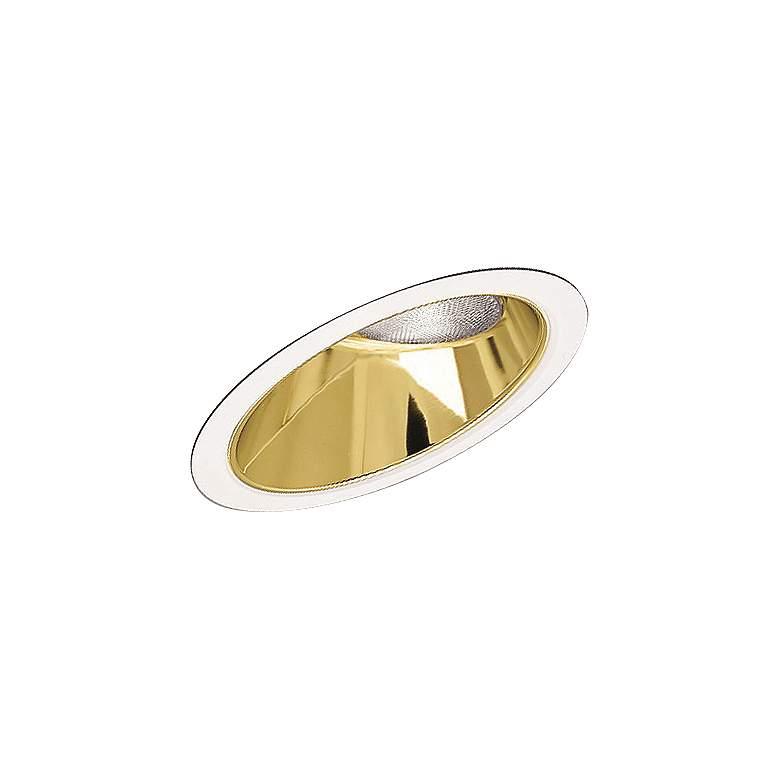 Progress Gold Alzak Sloped Recessed Baffle Trim
