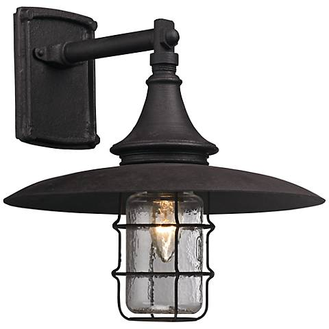 "Allegheny 13"" High Centennial Rust Outdoor Wall Light"