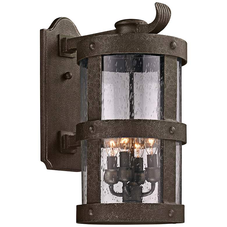"Barbosa 19 1/2"" High Bronze Outdoor Wall Light"