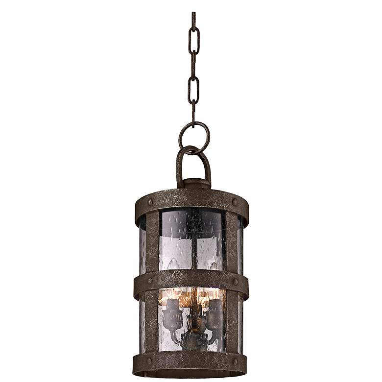 """Barbosa 16 3/4""""H Bronze Outdoor Hanging Light"""