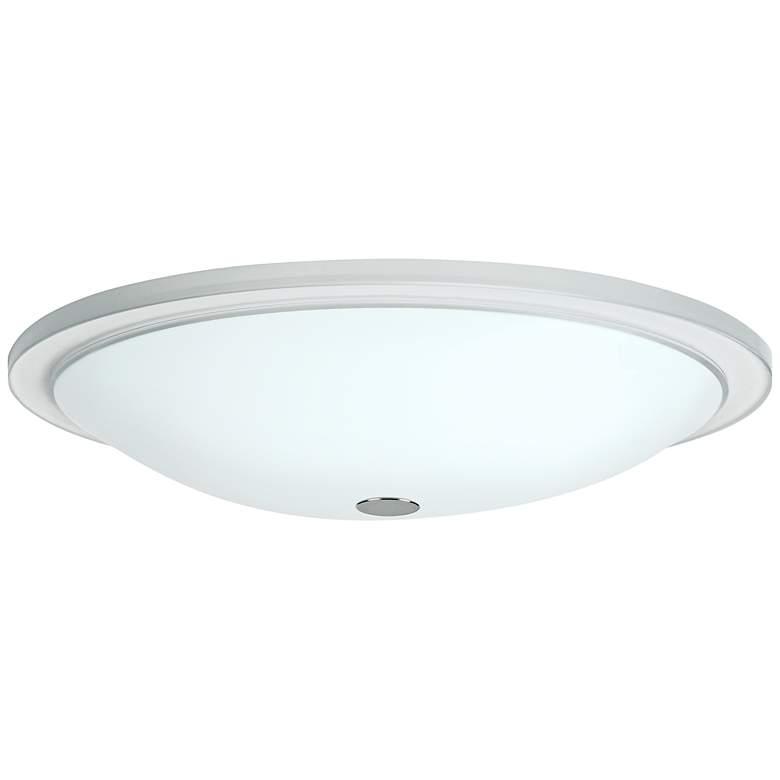"Besa Manta 13 1/2"" Wide Opal Glass Ceiling"