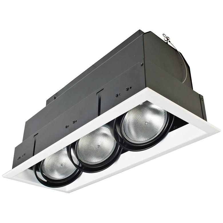 Eurofase White/Black Triple Par 20 Recessed Light
