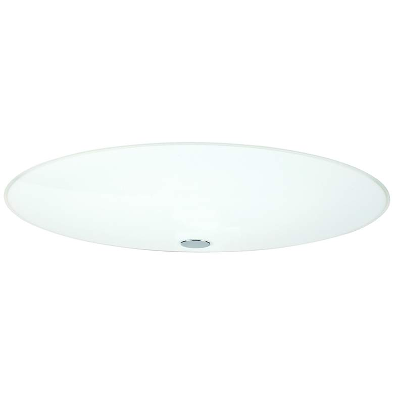 "Besa Renfro 20"" Wide Opal Glass Ceiling Light"