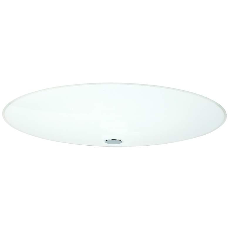 "Besa Renfro 20"" Wide Opal Glass Ceiling Light"
