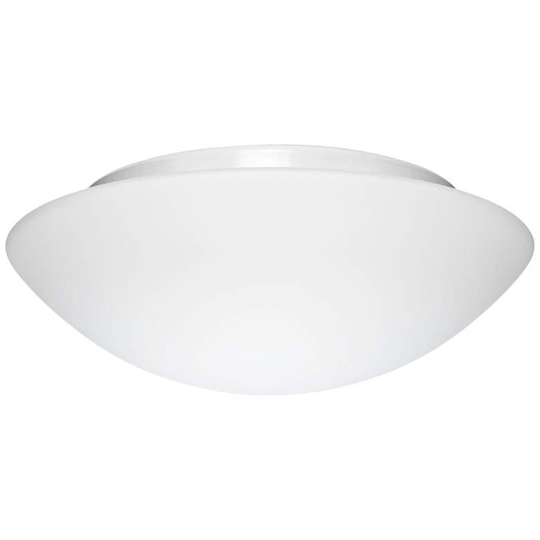 """Besa Nova 12 1/2"""" Wide White Ceiling Light"""