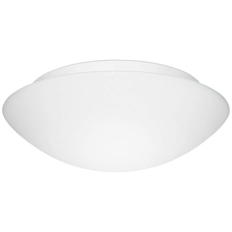 """Besa Nova 16"""" Wide White Ceiling Light"""