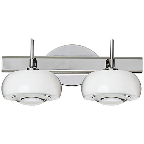 "Besa Focus 6 3/4"" High Clear Shade Sconce"