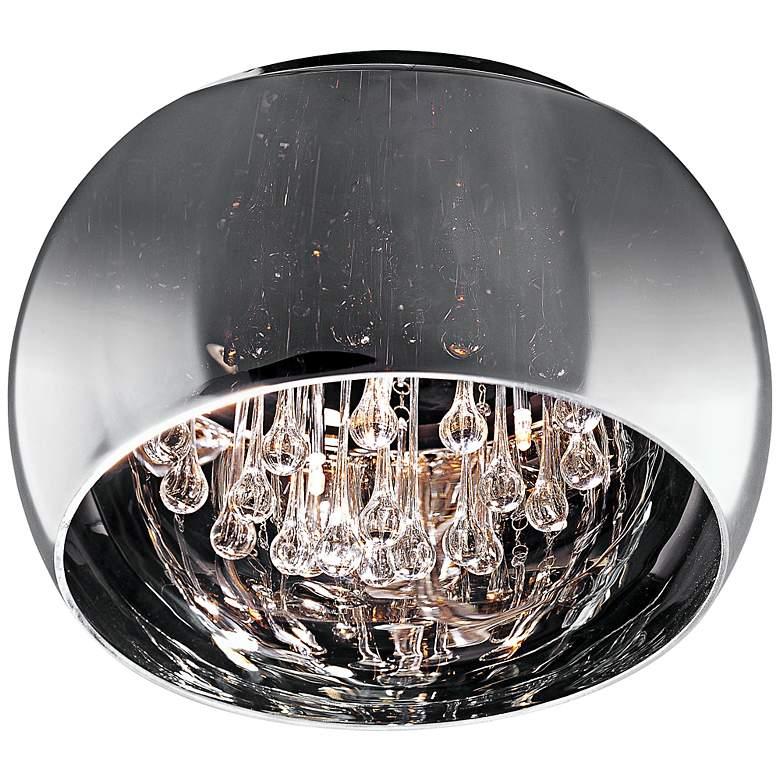 "ET2 Sense 15 3/4"" Wide Polished Chrome Ceiling Light"