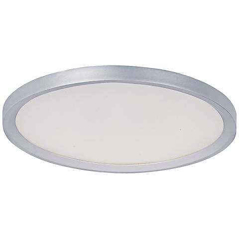 "ET2 Moonbeam 18 3/4"" Wide Metallic Silver LED Ceiling Light"