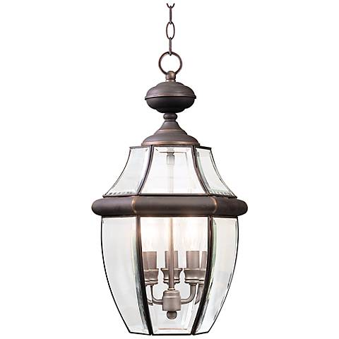 "Quoizel Newbury 21"" High Large Outdoor Hanging Light"