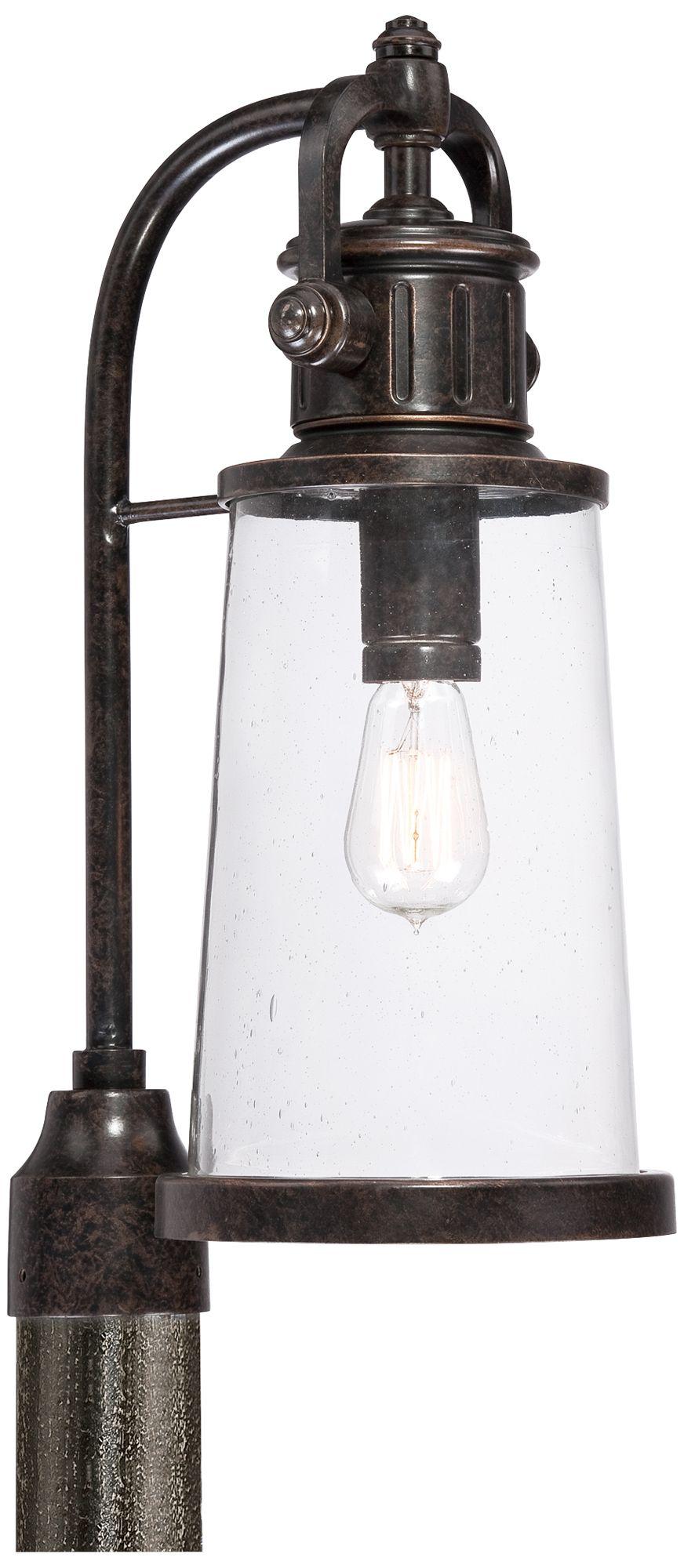 Quoizel Steadman 20 1/2  High Large Outdoor Post Light  sc 1 st  L&s Plus & Quoizel Steadman 20 1/2