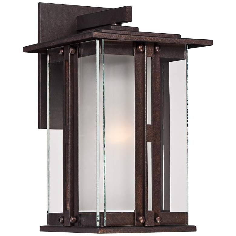 """Fallbrook Collection 11 3/4"""" High Bronze Outdoor Wall Light"""