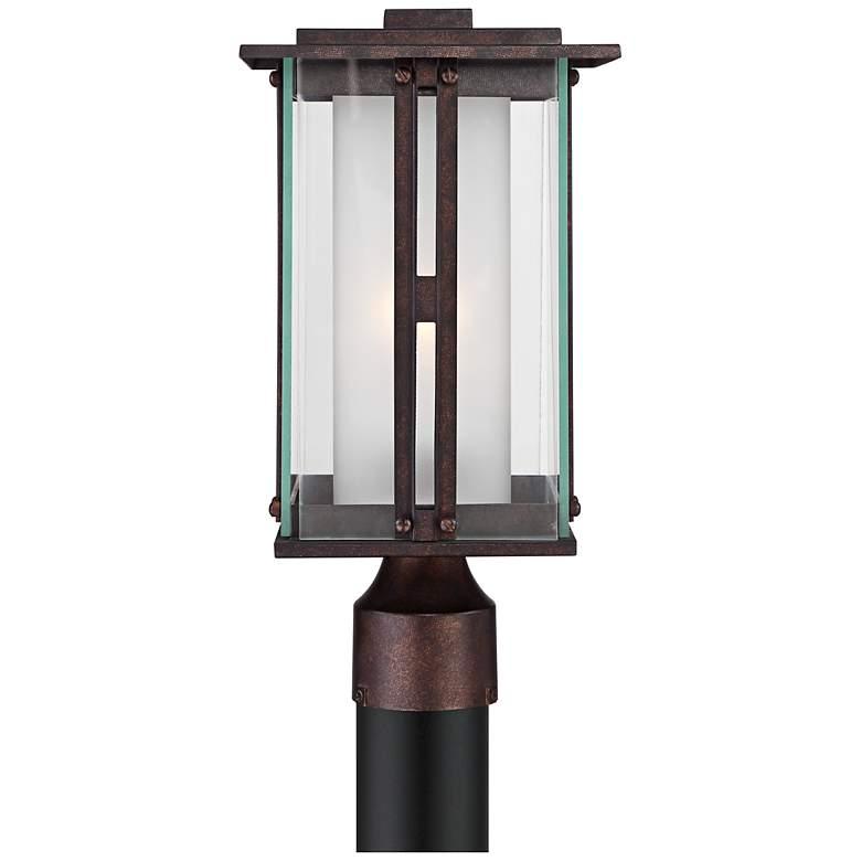 """Fallbrook Collection 15 3/4"""" High Bronze Outdoor Post Light"""