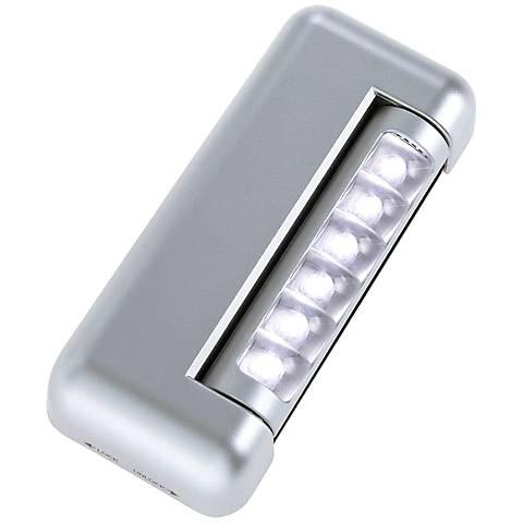 Fulcrum Futura 6-LED Silver Under Cabinet Light