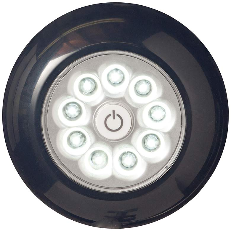 Fulcrum Anywhere XB LED Black Stick-On Light