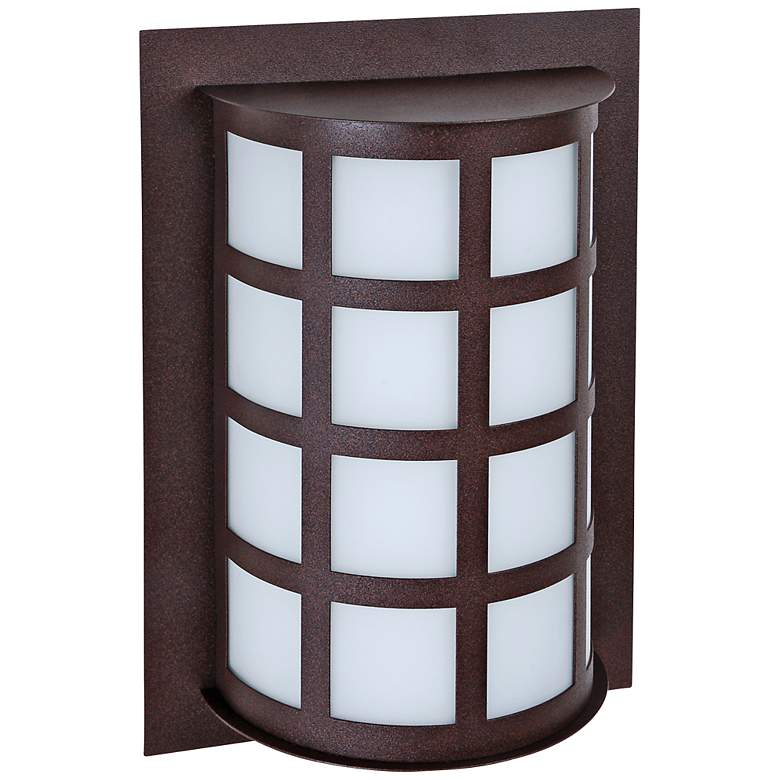 "Besa Scala 13"" High Bronze Outdoor Wall Light"