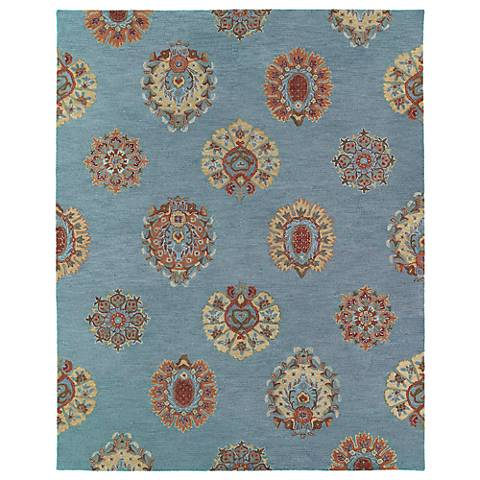 Kaleen Brooklyn 5301-56 Tatum Spa Wool Area Rug