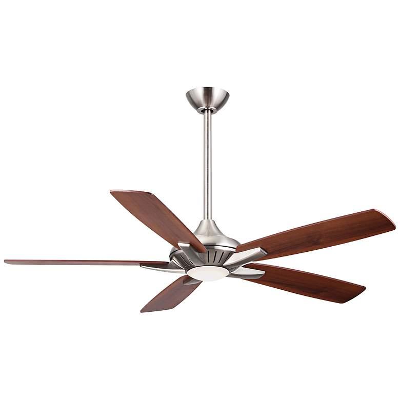 "52"" Minka Aire DYNO Brushed Nickel Ceiling Fan"