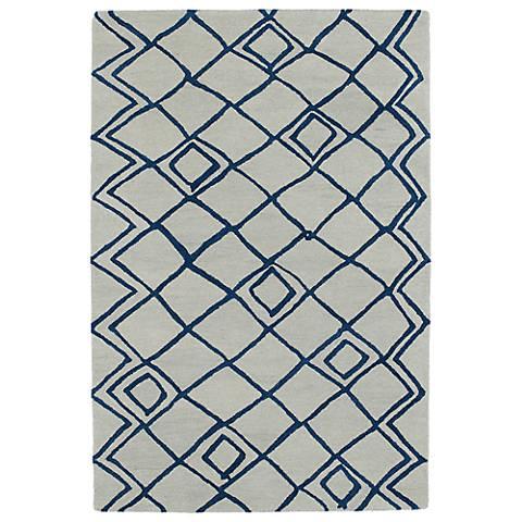 Kaleen Casablanca CAS04-01 Ivory Wool Area Rug