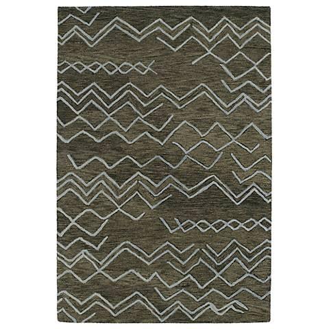 Kaleen Casablanca CAS05-80 Ash Wool Area Rug