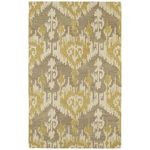 Kaleen Casual 5055-68 Sigmon Graphite Wool Area Rug
