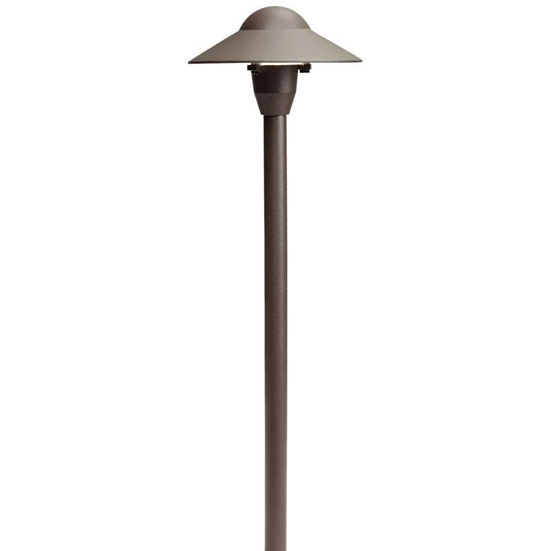 "Kichler 21""H Dome Architectural Bronze Landscape Path Light"