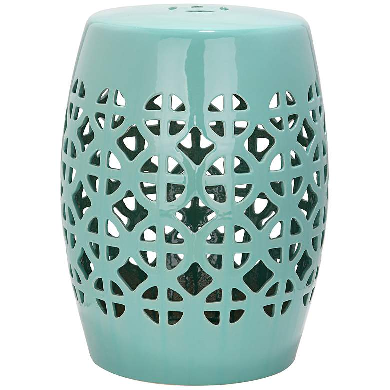 Safavieh Circle Lattice Robbins Egg Blue Ceramic Accent