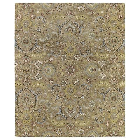 Kaleen Helena 3200-05 Athena Gold Wool Area Rug